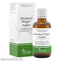Milchsäure Pflüger Tropfen, 50 ML, Homöopathisches Laboratorium Alexander Pflüger GmbH & Co. KG