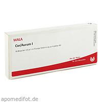 COR/AURUM I, 10X1 ML, Wala Heilmittel GmbH