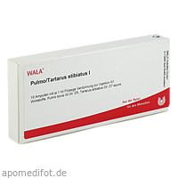 PULMO/TARTARUS STIBIATUS I, 10X1 ML, Wala Heilmittel GmbH