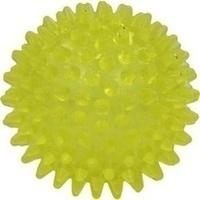 Igelball 8cm gelb-transparent, 1 ST, Ludwig Bertram GmbH