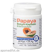 Papaya Enzym Kapseln, 60 ST, Pharma Peter GmbH