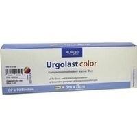 Urgolast color mix 5mx8cm, 10 ST, Urgo GmbH