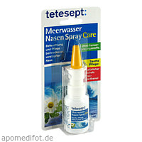 tetesept Meerwasser Nasen Spray care, 20 ML, Merz Consumer Care GmbH