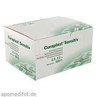 Curaplast sensitiv Pflasterstrips 2.5x7.2cm, 500 ST, Lohmann & Rauscher GmbH & Co. KG