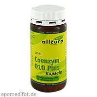 Coenzym Q10 Plus Kapseln, 150 ST, Allcura Naturheilmittel GmbH