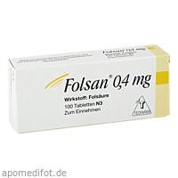 Folsan 0.4mg, 100 ST, Teofarma S.R.L.