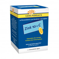 Zink 10+C Brausetabletten, 40 ST, Wörwag Pharma GmbH & Co. KG