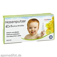 Klugzeug Nasenputzer Soforthilfe Nasensauger, 1 ST, Vbk Gdbr