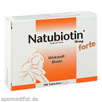 Natubiotin 10mg forte, 100 ST, Rodisma-Med Pharma GmbH