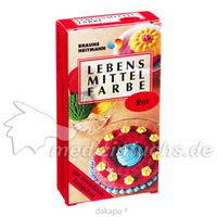 HEITMANN Lebensmittelfarbe rot, 2 × 4 Gramm, Brauns-Heitmann GmbH & Co. KG