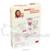 Mamivac Muttermilch Gefrierbeutel, 20 ST, Kaweco GmbH