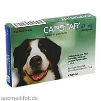 CAPSTAR 57 mg Tabletten f.große Hunde, 6 ST, Elanco Deutschland GmbH