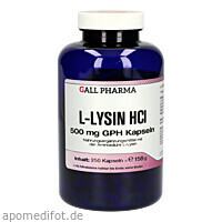 L-LYSIN 500mg, 250 ST, Hecht-Pharma GmbH
