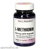 L-METHIONIN 500mg, 60 ST, Hecht-Pharma GmbH