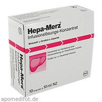 HEPA MERZ INFUSIONSKONZ, 10X10 ML, Merz Pharmaceuticals GmbH