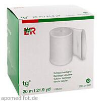 tg Schlauchverband weiß Größe 12 20M, 1 Stück, Lohmann & Rauscher GmbH & Co. KG