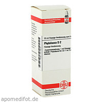 Phytolacca D2, 20 ML, Dhu-Arzneimittel GmbH & Co. KG