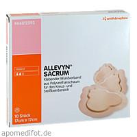 Allevyn Sacrum klein steriler Wundverband, 10 ST, Smith & Nephew GmbH