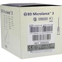 BD Microlance 3 Sonderkanüle 27G 1/2 0.4x13mm, 100 ST, Becton Dickinson GmbH