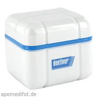 dentipur Reinigungsdose f.Zahnprothesen u.-spangen, 1 ST, Helago-Pharma GmbH & Co. KG