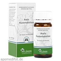 Aralis Hustentabletten, 100 ST, Homöopathisches Laboratorium Alexander Pflüger GmbH & Co. KG