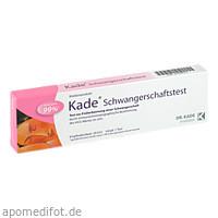 Kade Schwangerschaftstest, 1 ST, DR. KADE Pharmazeutische Fabrik GmbH
