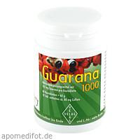 Guarana 1000mg Kautabletten, 60 ST, Velag Pharma GmbH