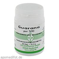 GUARANA PUR 500, 60 ST, Velag Pharma GmbH