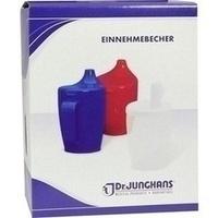 Einnehmebecher m.Griff u.Deckel 12mm blau, 1 Stück, Dr. Junghans Medical GmbH