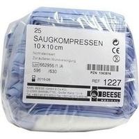 Saugkompressen unsteril 10x10cm, 25 ST, Meditrade GmbH