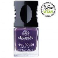 alessandro Nagellack 45 Dark Violet, 10 ML, alessandro International GmbH
