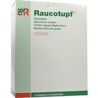 Raucotupf Stieltupfer 1 St steril großer Wattekopf, 50X2 ST, Lohmann & Rauscher GmbH & Co. KG
