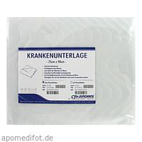 Krankenunterlage waschbar 75x90cm, 1 ST, Dr. Junghans Medical GmbH