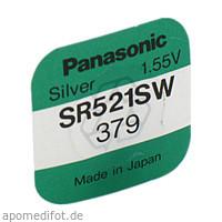 Batterie Knopfzelle 1.55V/SR521SW/379, 1 ST, Vielstedter Elektronik