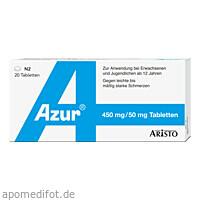 AZUR, 20 ST, Aristo Pharma GmbH