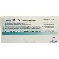 Iscador M c. Cu 1mg, 7X1 ML, Iscador AG