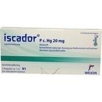 Iscador P c Hg 20mg, 7X1 ML, Iscador AG