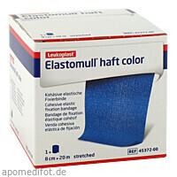ELASTOMULL HAFT 20MX8cm color blau, 1 ST, Bsn Medical GmbH