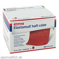 ELASTOMULL HAFT 20MX6cm color rot, 1 ST, Bsn Medical GmbH