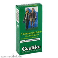 Coolike Erholungstuch für müde Beine mit FBW, 5 ST, Coolike-Regnery GmbH