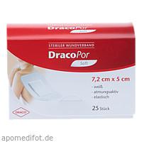 Dracopor Wundverband steril 7.2x5cm, 25 ST, Dr. Ausbüttel & Co. GmbH