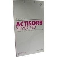 Actisorb 220 Silver 19.0x10.5cm steril, 10 ST, kohlpharma GmbH
