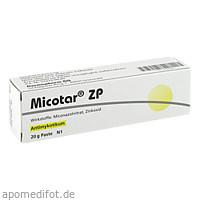 Micotar ZP, 20 G, Dermapharm AG