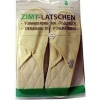 Zimtlatschen Baumwolle 41/42, 2 ST, Spinnrad GmbH