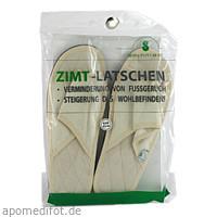 Zimtlatschen Baumwolle 43/44, 2 ST, Spinnrad GmbH