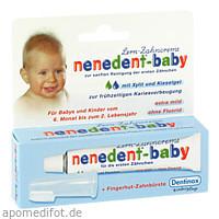 nenedent-baby Zahnpflege-Set, 20 ML, Dentinox Gesellschaft für pharmazeutische Präparate