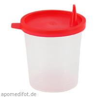 Urinbecher mit Schnappdeckel, 1 ST, Dr. Junghans Medical GmbH