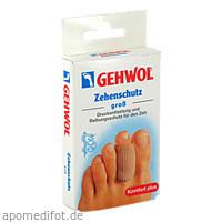 GEHWOL Polymer-Gel Zehenschutz groß, 2 ST, Eduard Gerlach GmbH