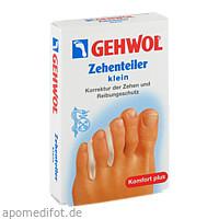 GEHWOL Polymer-Gel Zehenteiler klein, 3 ST, Eduard Gerlach GmbH
