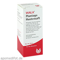 Plantago Hustensaft, 90 ML, Wala Heilmittel GmbH